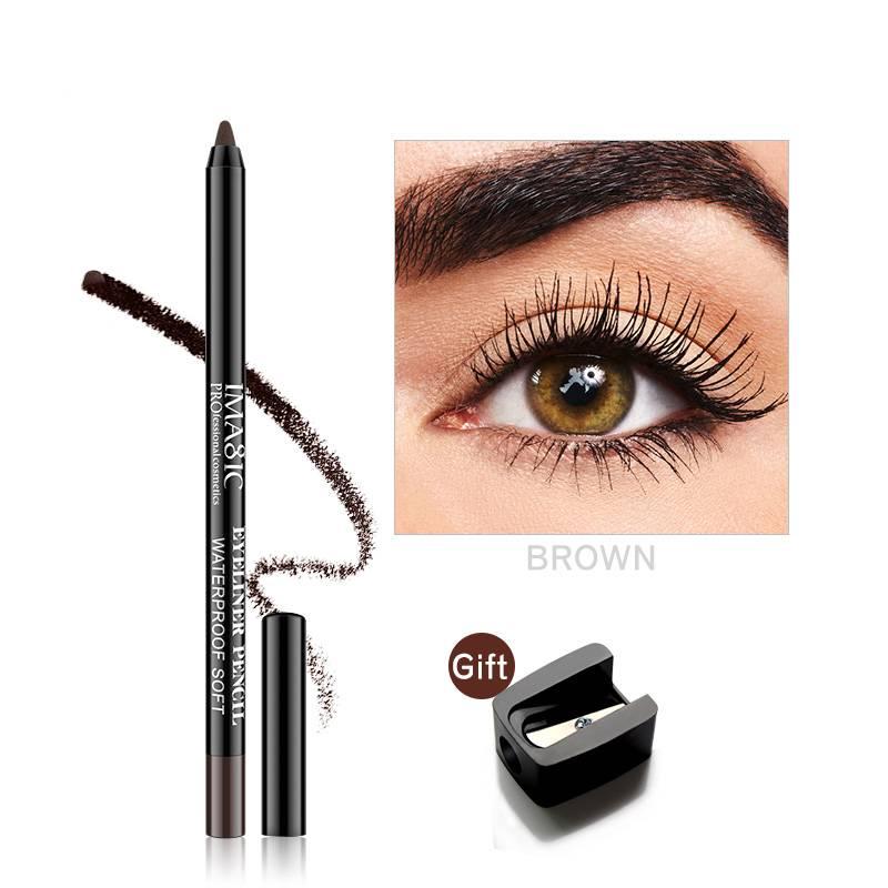 Waterproof Black Eyeliner Pencil