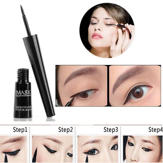 Waterproof Black Long Lasting Liquid Eyeliner